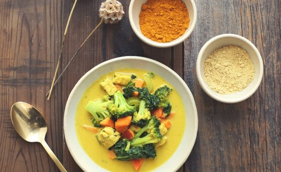 RECIPE OF THE MONTH: Mixed Vegetable Curry