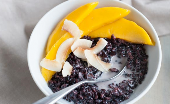 RECIPE OF THE MONTH: Black Rice Pudding