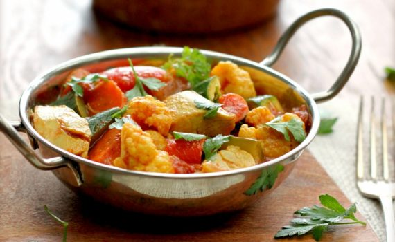 RECIPE OF THE MONTH: Vegetable Curry