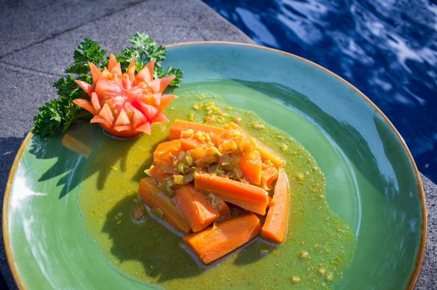 RECIPE OF THE MONTH: Carrot Curry