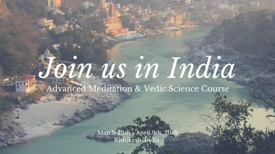 Advanced Meditation & Vedic Science Course