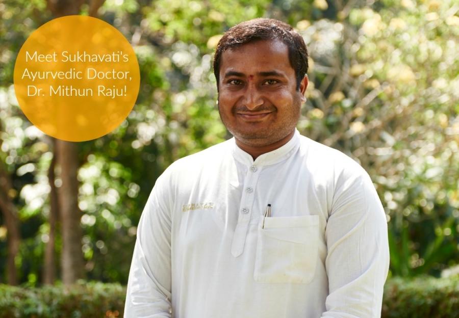 Meet Dr. Mithun Raju!