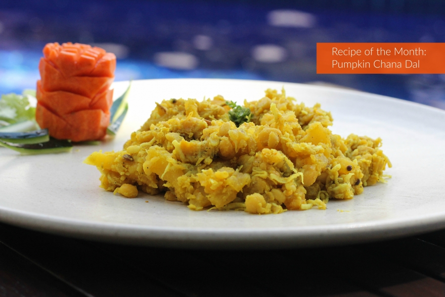 Recipe of the Month: Pumpkin Chana Dal