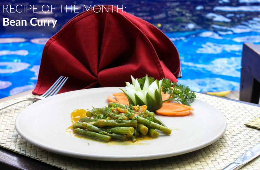 RECIPE OF THE MONTH: Bean Curry