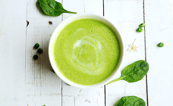 RECIPE OF THE MONTH: Spinach Soup